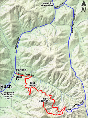 Woodrat Road Map