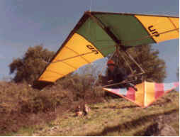 April 8, 1978: Jeff Van Datta Launching the slot on his UP Spider.
